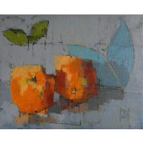 Oranges by Jill Barthorpe