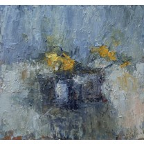 Winter Still Life With Daffodils