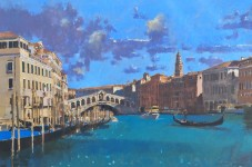Spring Light On The Grand Canal, Venice